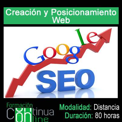 Creacion y Posicionamiento Web