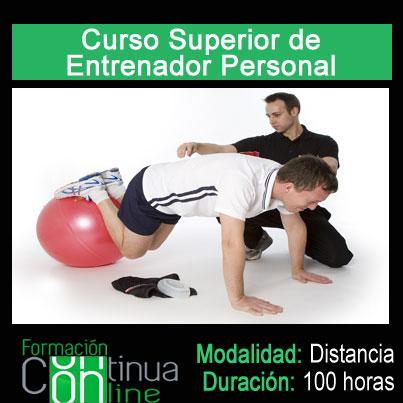 Curso de entrenador personal
