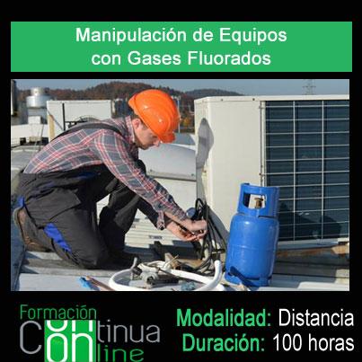 Manipulacion de equipos con gases flurados