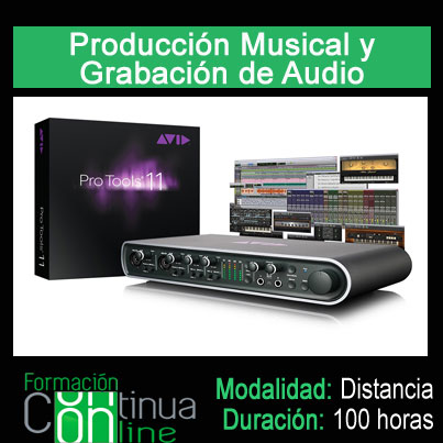 Produccion musical y grabacion de audio