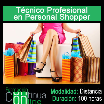 Tecnico profesional en personal shopper